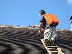 Traitement hydrofuge de toit Signes